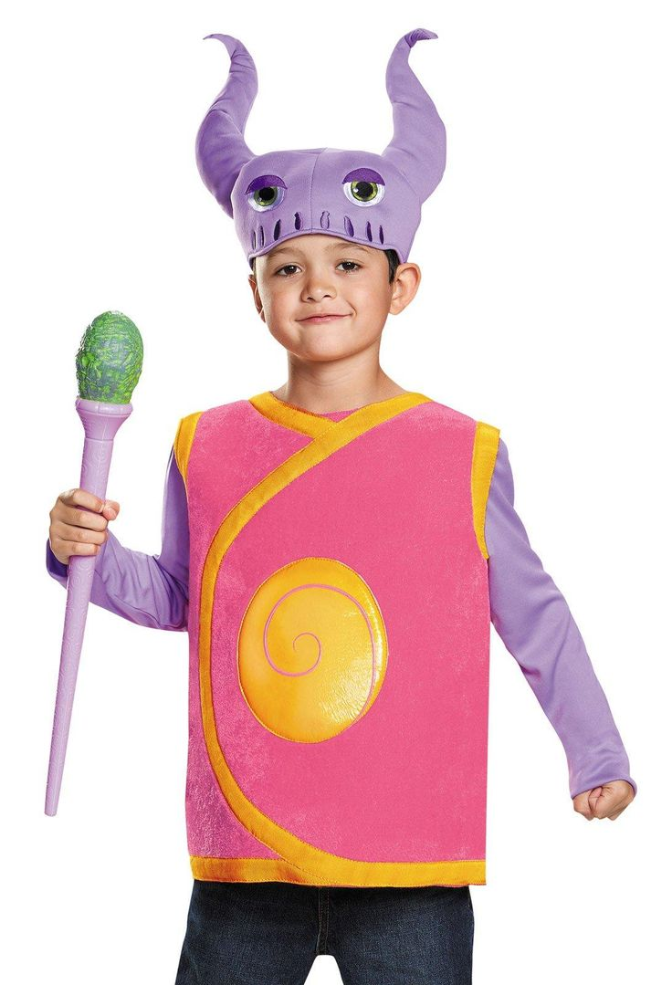 dreamworks home kids captain smek costume - Halloween Home Costumes