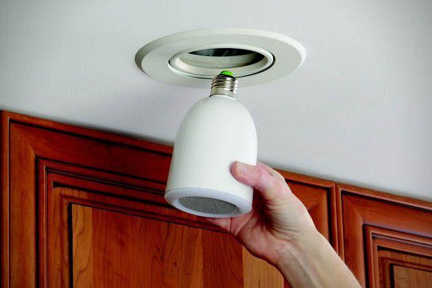 Brilliant! AudioBulb Wireless Light Bulb Music System 3