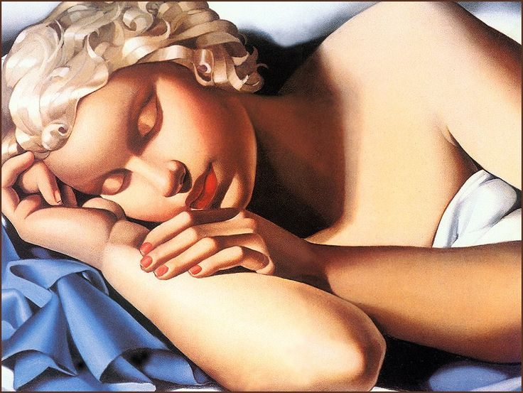 Art Deco was a modern and decorative style largely based on geometry, but the representation of form had a distinct three-dimensional characteristic, as seen in the work of Tamara de Lempicka. Description from cuded.com. I searched for this on bing.com/images