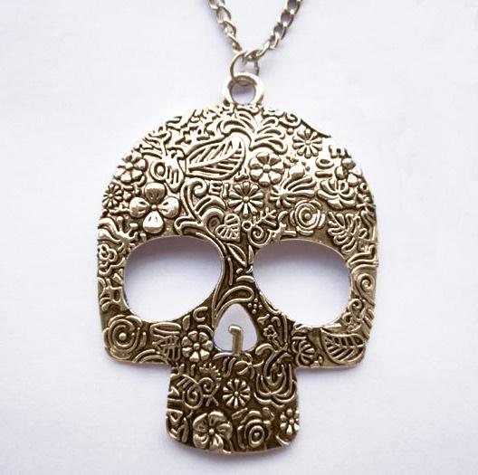 #skull #caveira #necklace #colar