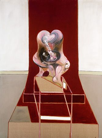 Triptych Inspired by the Oresteia of Aeschylus | Francis Bacon