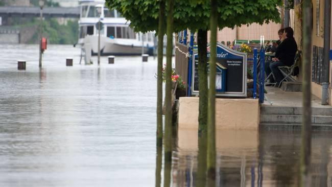 Hochwasser Passau Bayern