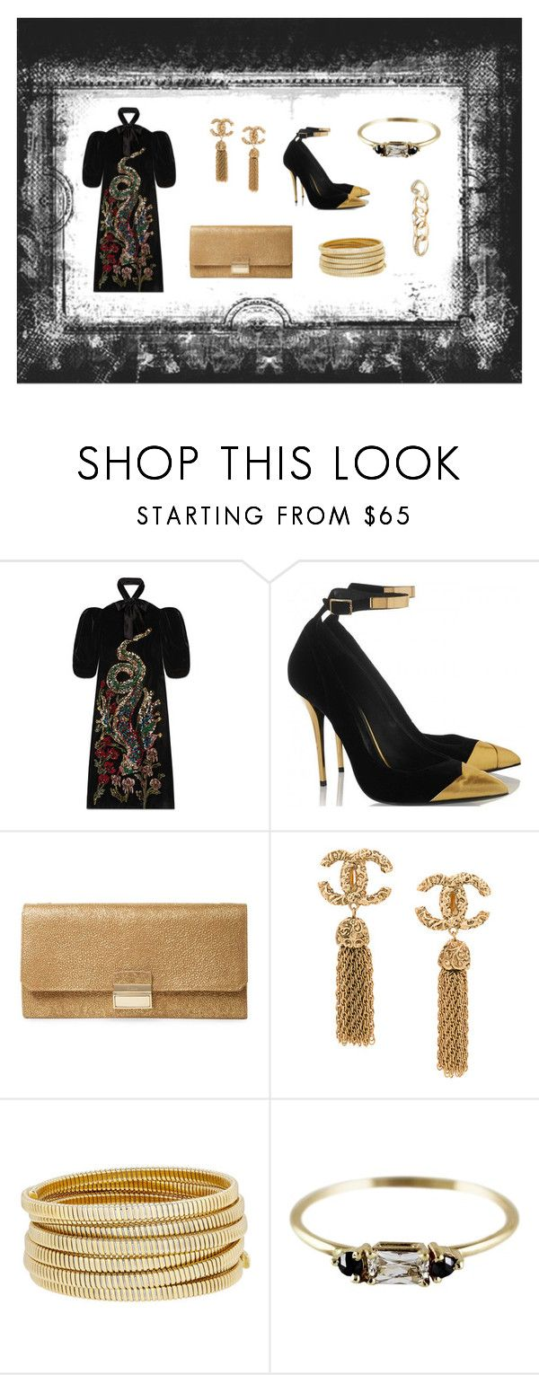 """Cinemà"" by hkristen on Polyvore featuring Gucci, Furla, Bagutta e GUESS"