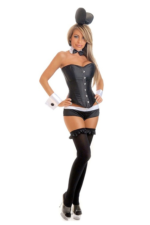 tuxedo bunny costume bunny playboy bunny costumes. Black Bedroom Furniture Sets. Home Design Ideas
