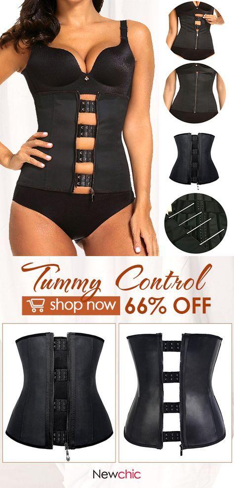 86adb4ea955 Tummy Control Front Zipper Steel Bone Under bust Corset  corset  tummy   control  frontzipper  shapewear