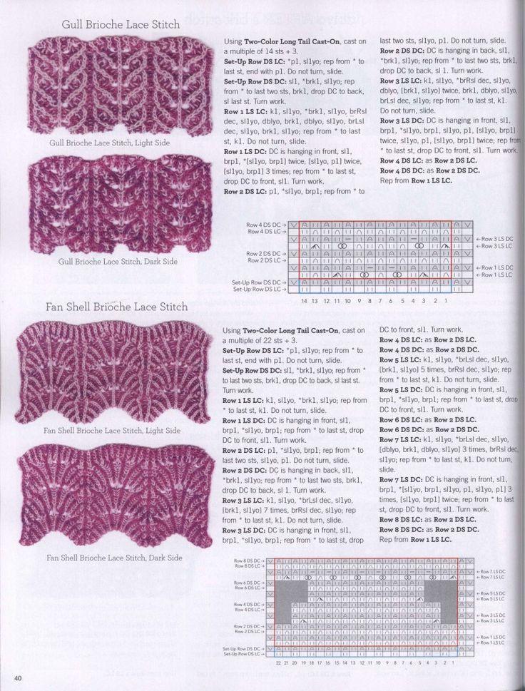 Brioche stitch tutorial 4