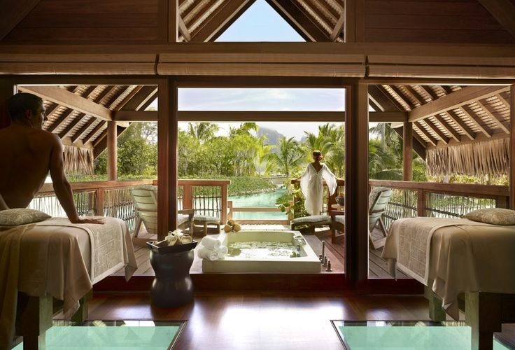 (Photo credit: Barbara Kraft / Four Seasons)  Tour Jennifer Aniston & Justin Theroux's Honeymoon Resort - up now on the site http://www.thechictravelclub.com/jennifer-and-justin/  Be sure to join us at www.facebook.com/thechictravelclub to be in the know!   xo The Chic Travel Club