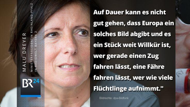 Mehr europäische Solidarität, fordert Maly Dreyer im @bayern2-Interview http://br.de/s/1uzXuNA #Flüchtlinge