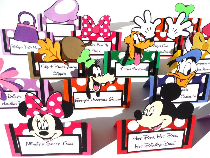 16 Mickey Mouse Clubhouse Themed Tent Style by ScrapsToRemember