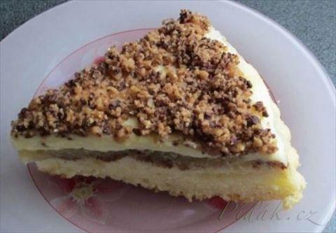 Obrázek z Recept - Neskutečně dobrý koláč sypaný margotkou