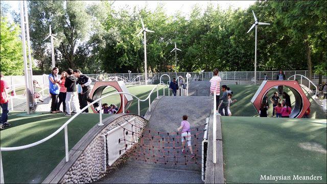 Malaysian Meanders: Parc de la Villette: A Kids' Paradise in Paris