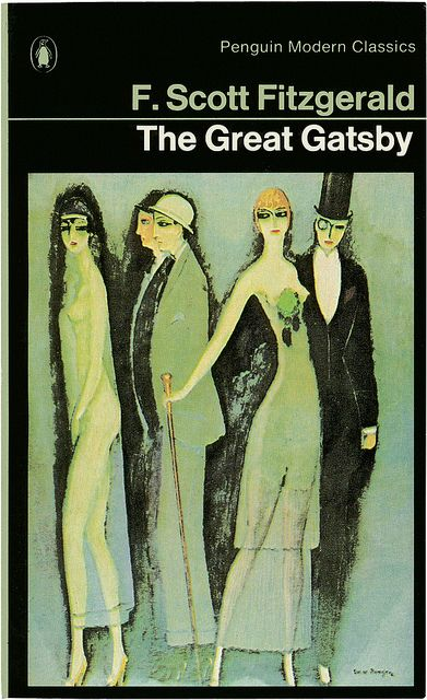 The Great Gatsby by F. Scott Fitzgerald by Penguin Books UK, via Flickr