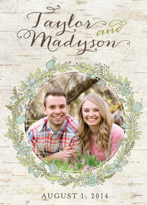 14 best Photo Collage Wedding Invitations images on Pinterest ...