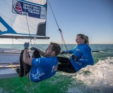 Hannah Mills is a woman on a mission - to become Britain's most successful female Olympic sailor.