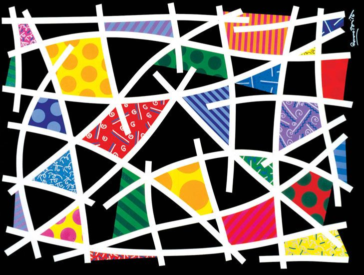 romero britto patterns