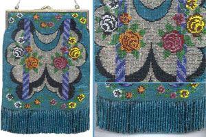 borse di perline vintage
