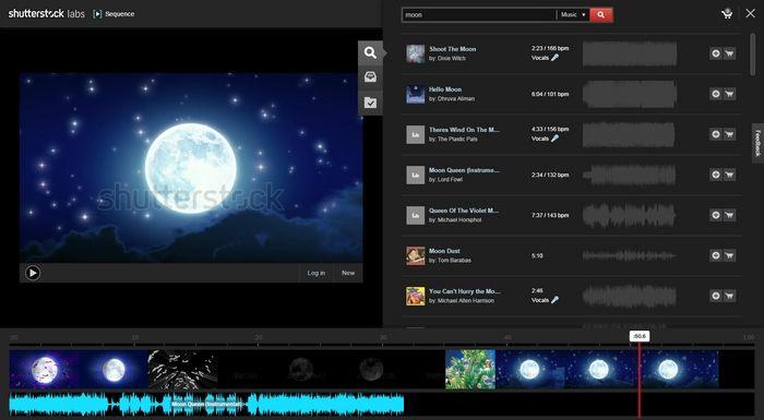 Sequence es un nuevo editor de vídeos para el navegador Chrome, muy simple y fácil de usar, desarrollado por Shutterstock Labs.
