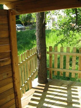 construire cabane dans un arbre
