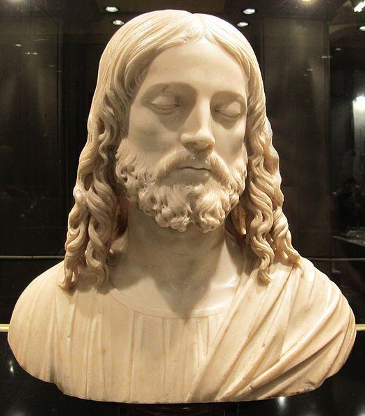 Tullio lombardo, busto di cristo, 1520, donazione eredi de carlo al bargello2