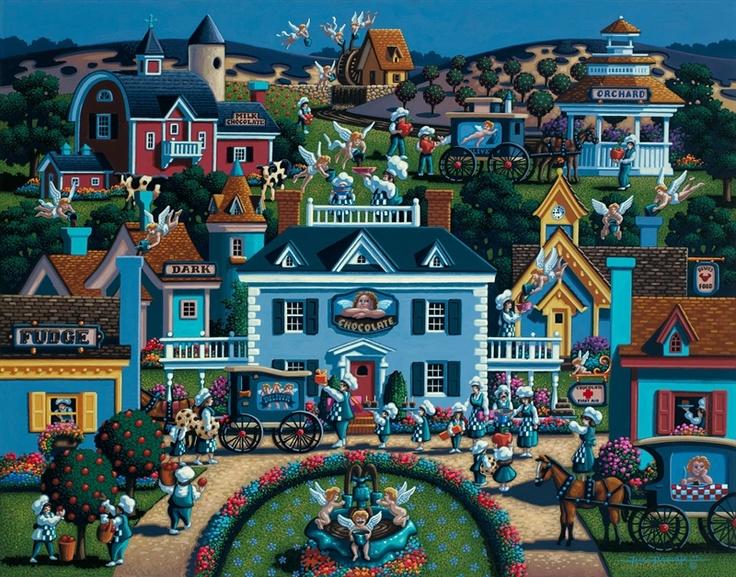 17 Best Images About Dowdle Folk Art On Pinterest Radios