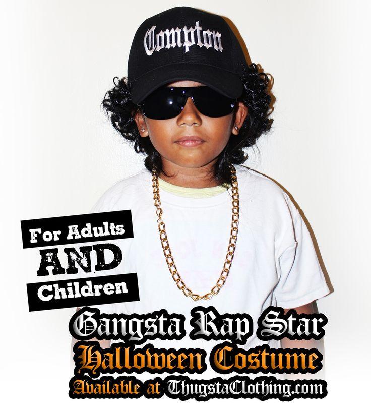 NWA Gangsta Rap star Halloween costume Eazy-e style