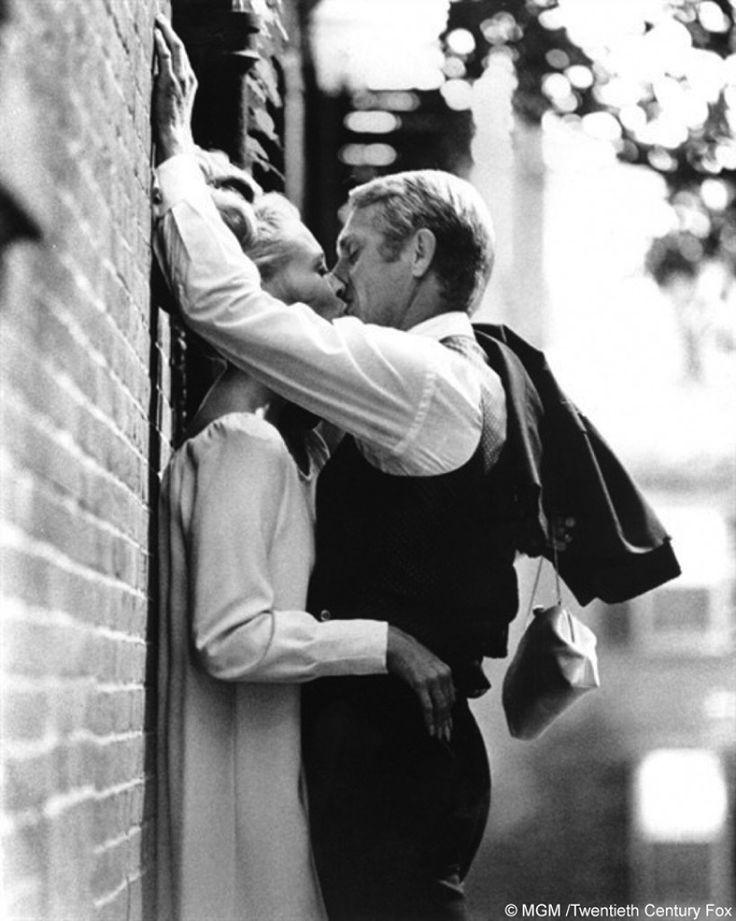 Steve Mc Queen et Faye Dunaway