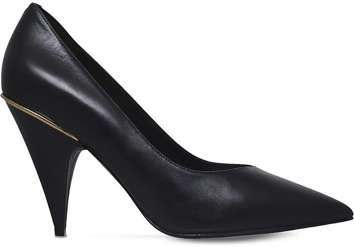 Nine West Whistles leather court shoes