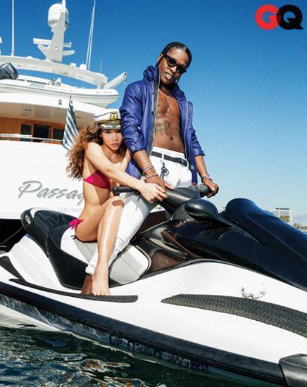 ASAP Rocky's Girlfriend | IAMJhun: Video: A$AP Rocky Models For 'GQ'