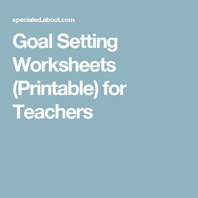Free Measurement Worksheets Grade 3 Word Best  Goal Setting Worksheet Ideas On Pinterest  Goals  Function Inverses Worksheet Pdf with My Plate Worksheet Excel Goal Setting Worksheets Printable For Teachers Genetic Traits Worksheet