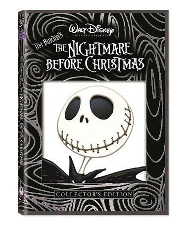Love this Nightmare Before Christmas DVD on #zulily! #zulilyfinds