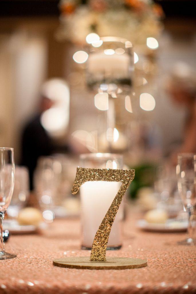 Numeración de mesas - Bridgette Marie Photography