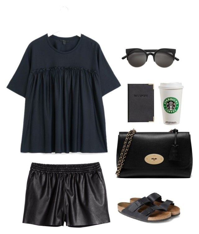Untitled #143 by juliegodsknielsen on Polyvore featuring H&M and Mulberry