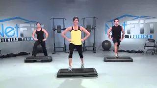 step aerobics routines - YouTube