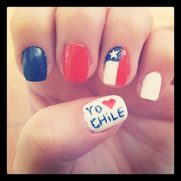 chile <3 bandera chilena