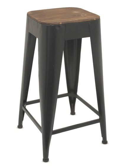 Square Stool. Three Hands at Gilt