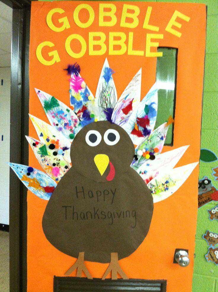 Thanksgiving Door Preschool Pinterest Thanksgiving