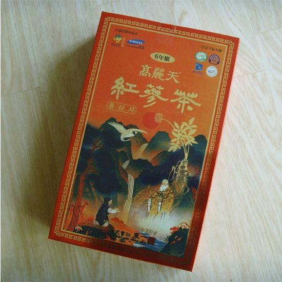 Korean Red Ginseng Tea (3g x 100Bags) /  Vegan ,  a special product of  Korea  ! #KOREAHEAVENREDGINSE