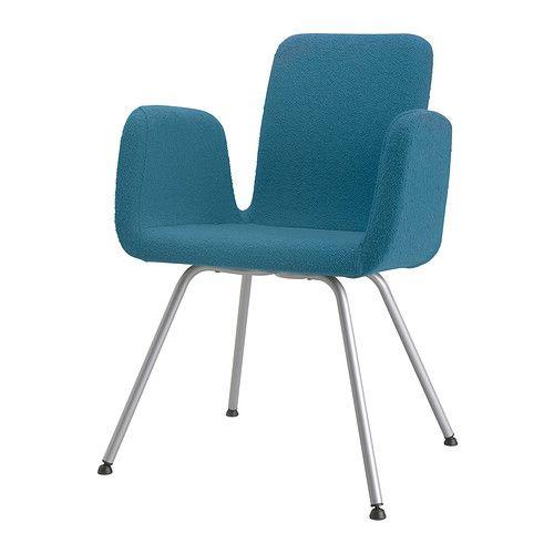 IKEA - PATRIK, Cadeira p/escritório, Ullevi azul,  ,