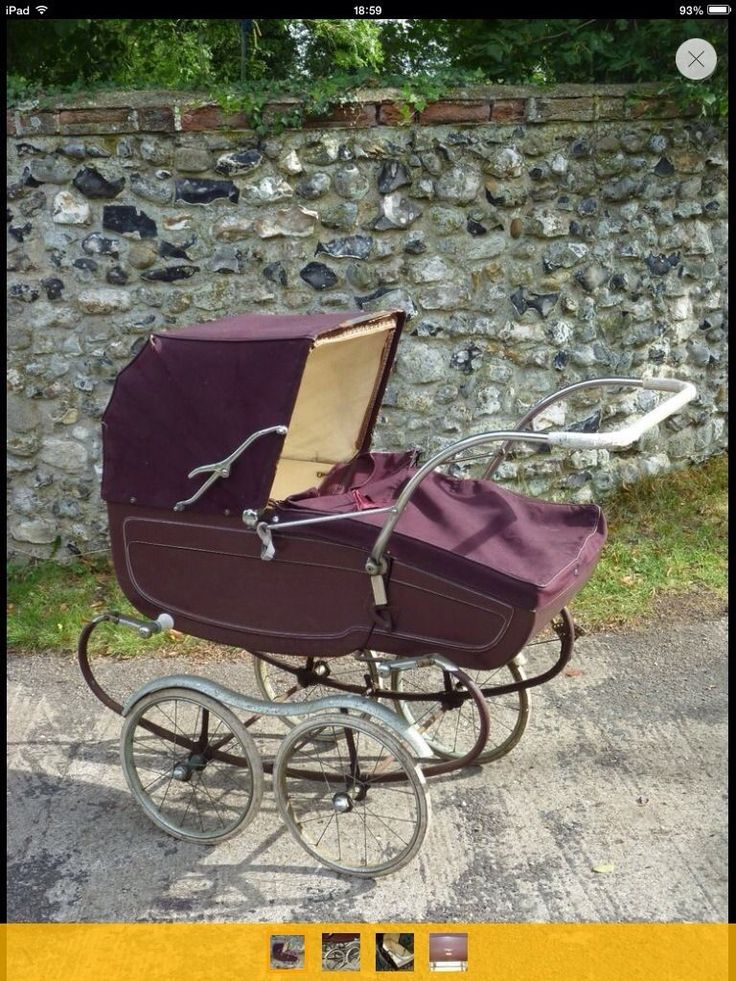 Pedigree Vintage Drop Toe Coachbuilt Pram | eBay