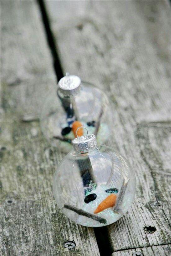 Muñeco nieve derretido