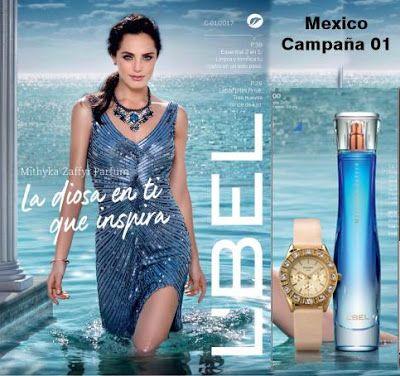 lbel campaña 1 2017 mexico. Catalogo de productos de belleza y fragancias. #moda #fashion #cosmetics