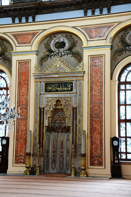Dolmabahce Mosque in Istanbul , Turkey