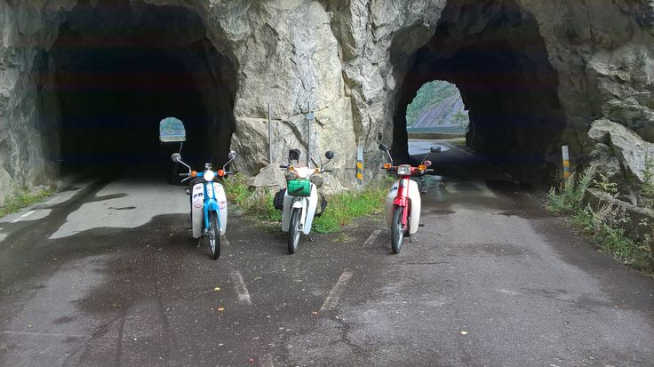 I met up with some guys from ireland who rode up to nordkapp on their old cubs, all money raised went to a childrens hospital. very nice guys and we had a good laugh going on the old roads.