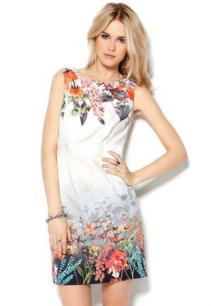Mexx Dress Valkoinen Bubbleroom.fi