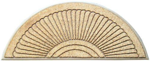 Geo Crafts G237 Sundance 30 by 72-Inch Coco Rubber Door Mat, Beige by Geo Crafts Inc.. $90.75. Beautiful sundance design on a beige rubber slip resistant backing. Our Tuffcor coco mats are bonded to natural rubber through a custom made mold. Rug measures 30-inch by 72-inch. Shedding is minimized by compressing the coco fibers into a non skid backing. Founded at the turn of the century in India, our roots go back to Indian Emporium and V.O. Vakkan and sons of Cochin...