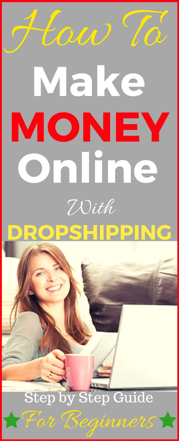 Make money online with dropshipping business. Drop shipping is the one of best side hustle. It doesn't take a lot of time and it's a great way to earn money online from home. It's perfect for people who want to work from home. Start earning passive income - click to see how >>>