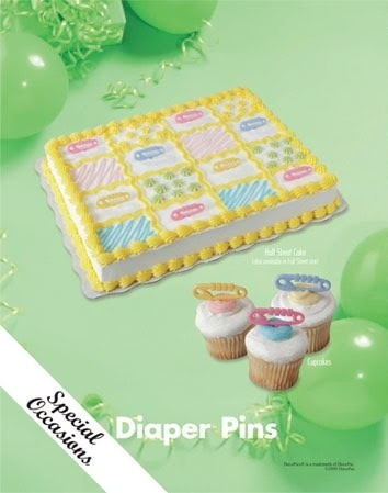Sam's Club Baby Shower Cake