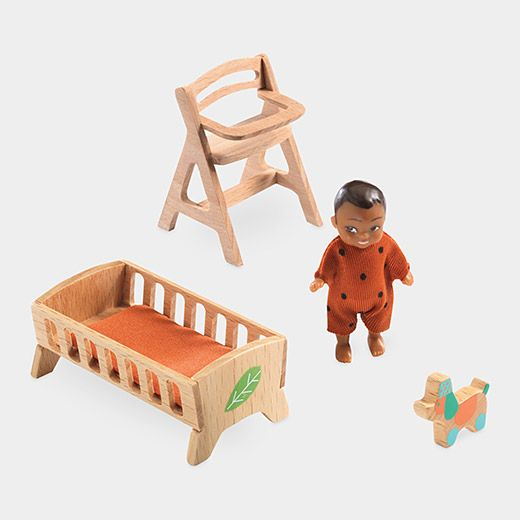 Cubic Dollhouse Set Baby Room Furniture Baby Furniture