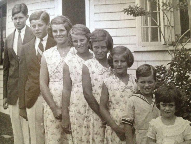 Joe Jr., Jack, Rosemary, Kick, Eunice, Pat, Bobby, and Jean ❤❤❤ ❤❤❤❤❤❤❤  http://en.wikipedia.org/wiki/Kennedy_family   http://en.wikipedia.org/wiki/Kathleen_Cavendish,_Marchioness_of_Hartington    http://www.findagrave.com/cgi-bin/fg.cgi?page=gr&GRid=3491