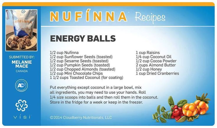 Energy Balls - Power packed protein perfection! These are better than trail mix for me! Have you tried them yet?